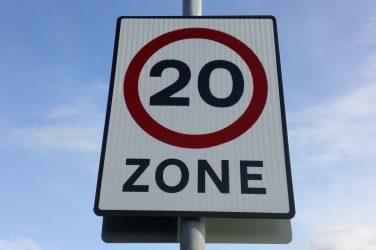 Urban Speed Limit of 20mph