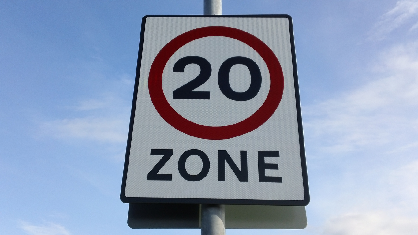 Urban Speed Limit of 20mph